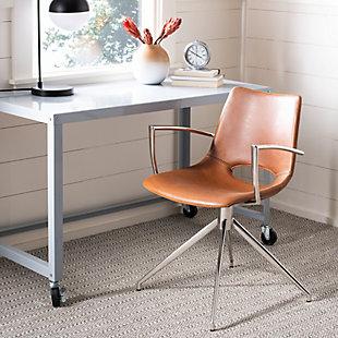 Safavieh Dawn Swivel Chair, , rollover