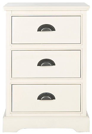 Safavieh Griffin 3 Drawer Side Table, , large