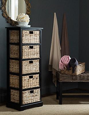 Safavieh Vedette 5 Basket Storage Tower, , rollover