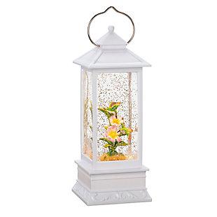 Hummingbird Lighted Spinning Water Globe, , rollover