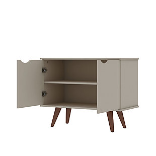 Hampton Accent Cabinet, Off White, large
