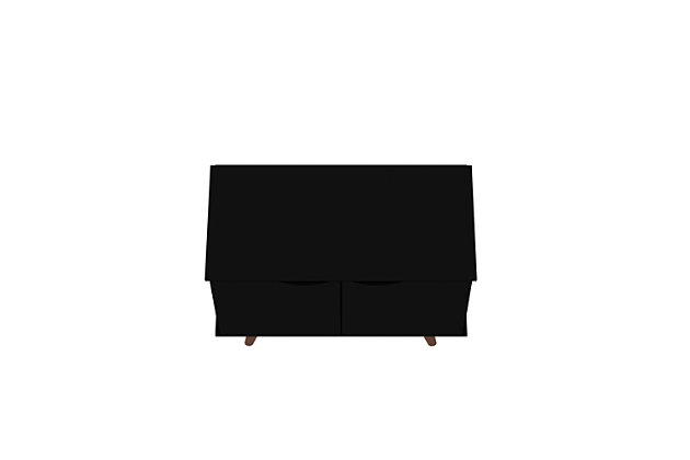 Hampton Accent Cabinet, Black, large