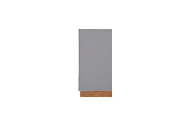 Cornelia Accent Cabinet, Gray/Nature, large