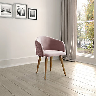 Kari Accent Chair, Rose Pink, rollover