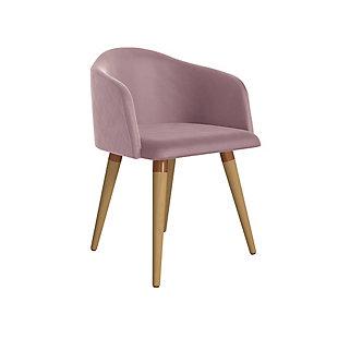 Kari Accent Chair, Rose Pink, large