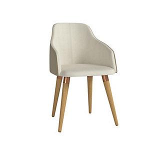 Martha Accent Chair, Beige, large