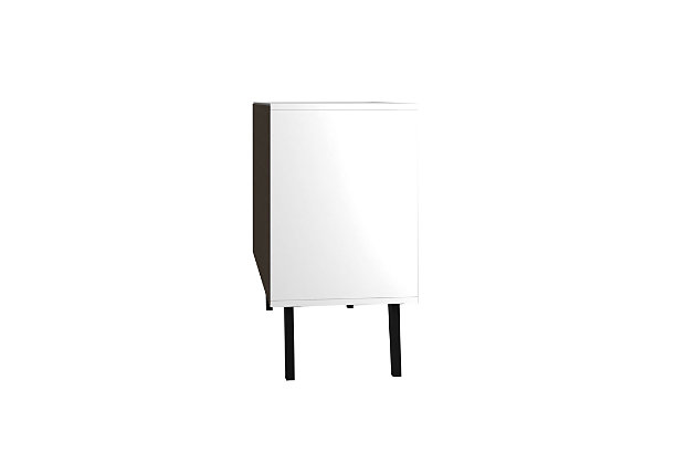 Amsterdam Accent Cabinet, White, large