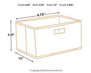Storage Bins (Set of 5), , large