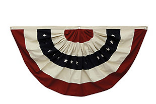 Fabric Flag Wall Décor in Half Circle, , large