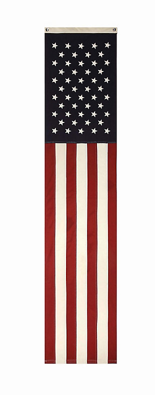 "20""L x 96""H Vertical Flag Wall Décor, , large"
