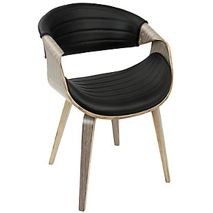 Symphony Dining Chair, Black/Gray, large