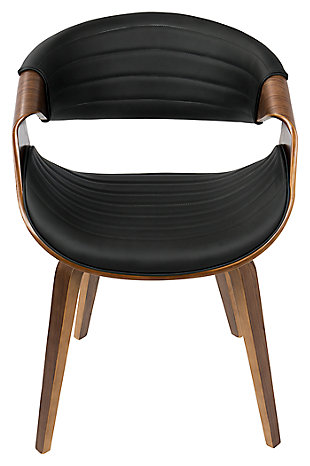 Symphony Dining Chair, Black, rollover