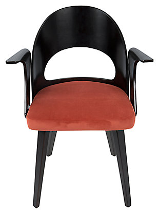 Symphony Dining Chair, Orange, rollover