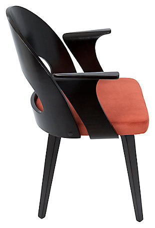 Symphony Dining Chair, Orange, large