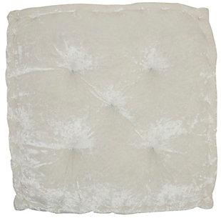 Nourison Mina Victory Life Styles Velvet Floor Pillow, , large