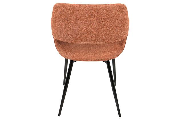 Margarite Dining Chair (Set of 2), Orange, large