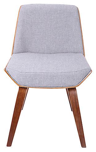 Corazza Accent Chair, Gray, rollover