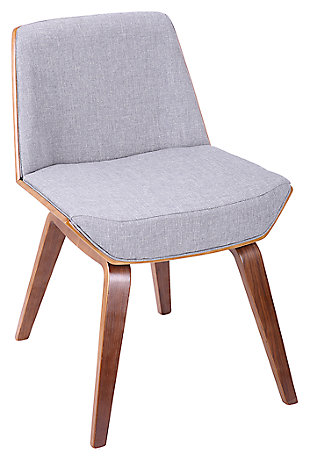 Corazza Accent Chair, Gray, large