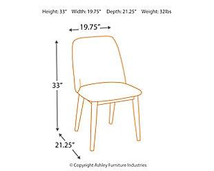 Tintori Dining Chair (Set of 2), , large