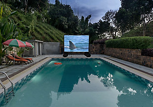 Total Homefx 1500 Outdoor Theatre Kit with 108 Inch Inflatable Screen, , rollover
