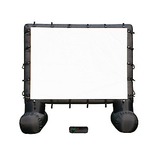 Total Homefx 1500 Outdoor Theatre Kit with 108 Inch Inflatable Screen, , large