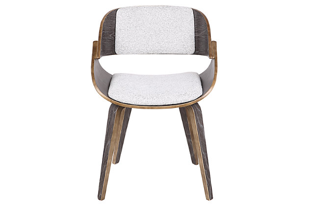 Fortunato Dining Chair, White, large