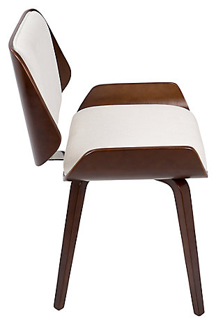 Santi Dining Chair (Set of 2), White, large