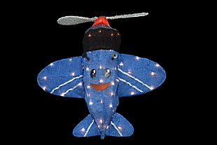 Rudolph 24 Inch Misfit Airplane Outdoor 3D LED Yard Decor, , large