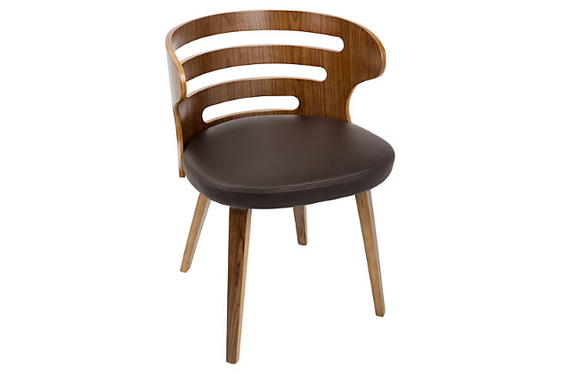 Cosi Dining Chair, Brown, large