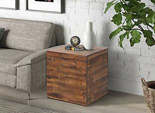 Crawford & Burke Storage Cube Trunk, , rollover