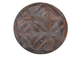 Crawford & Burke Round Wooden Wall Art, , large