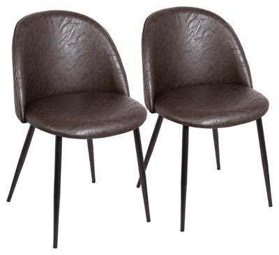 Ashley Lumisource Luna Chair in Black (Set of 2), Black