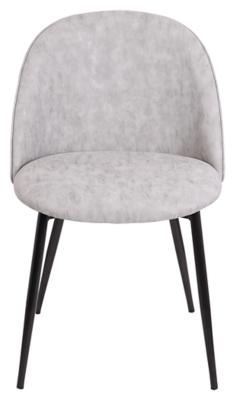 Ashley Lumisource Luna Chair in Black (Set of 2), Gray