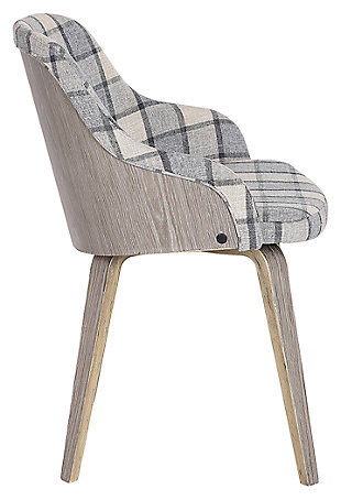 Bacci Dining Chair, Gray, large