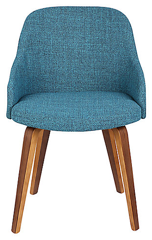 Bacci Dining Chair, Teal, rollover