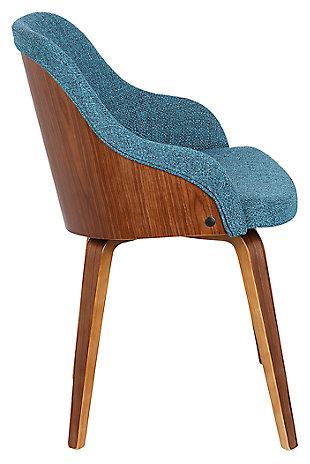 Bacci Dining Chair, Teal, large