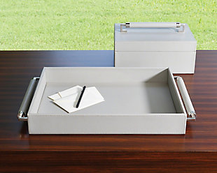 Global Views Double Handle Serving Tray, , rollover