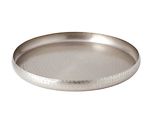 Global Views Nickel Offering Antique Tray, , large