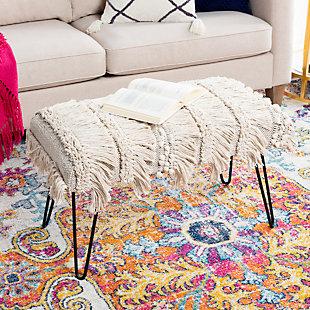 Surya Adilah Upholstered Bench, , rollover