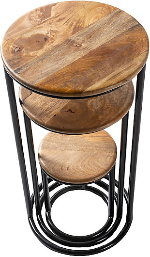 Surya Ansh Nesting Table Set (Set of 3), , rollover