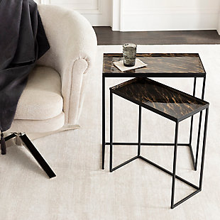 Surya Aurnia Nesting Table (Set of 2), , rollover