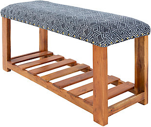 Surya Avigail Upholstered Bench, , large