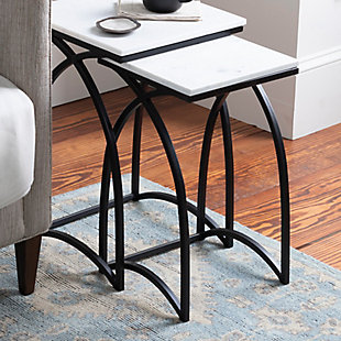 Surya Evana Nesting Table (Set of 2), , rollover