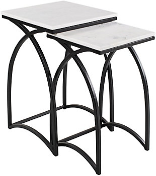 Surya Evana Nesting Table (Set of 2), , large