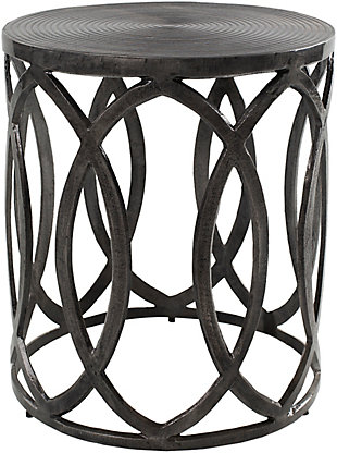 Surya Earnshaw End Table, , large