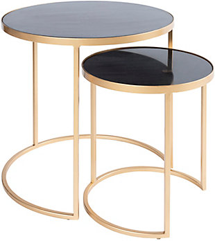 Surya Hearthstone Nesting Table (Set of 2), , large