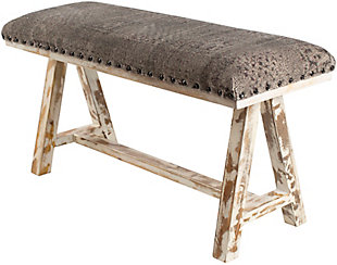 Surya Odalis Upholstered Bench, , large