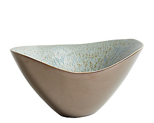 Global Views Bronze Blue Reactive Bowl, , large