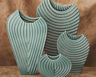 Global Views Azure Large Vase, , rollover