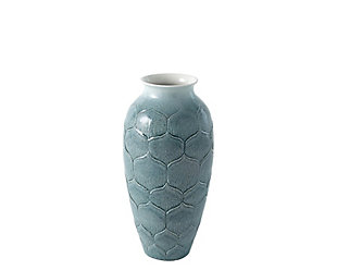 Global Views Lo's Teal Small Vase, , large